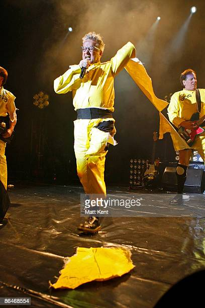 Mark Mothersbaugh of Devo performs at The Forum on May 6, 2009 in London, England.