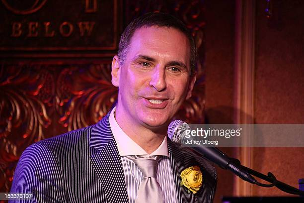 Mark Nadler attends the press preview at 54 Below on October 4 2012 in New York City
