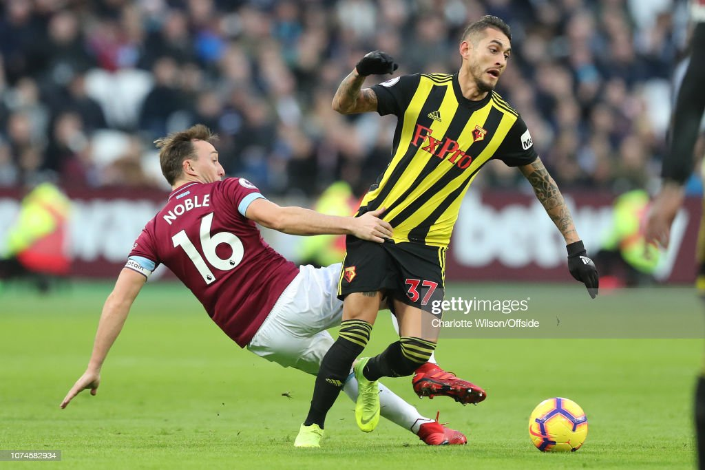 West Ham United v Watford FC - Premier League : News Photo