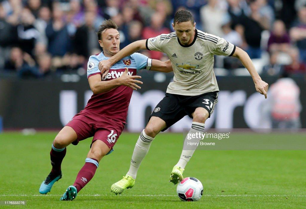 West Ham United v Manchester United - Premier League : News Photo