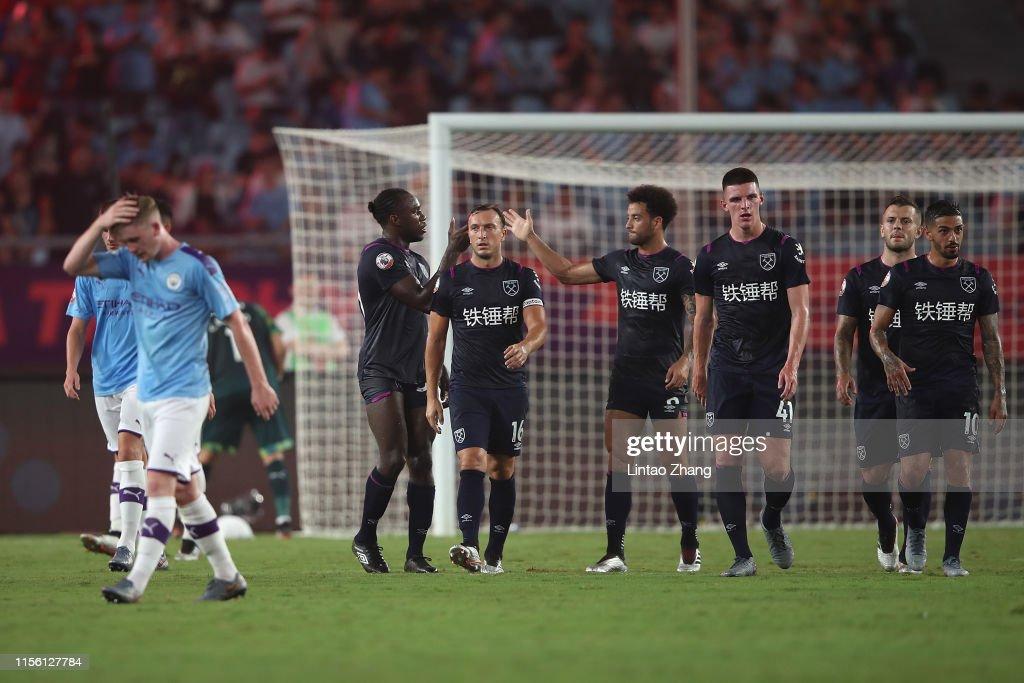 Premier League Asia Trophy - West Ham United v Manchester City : News Photo