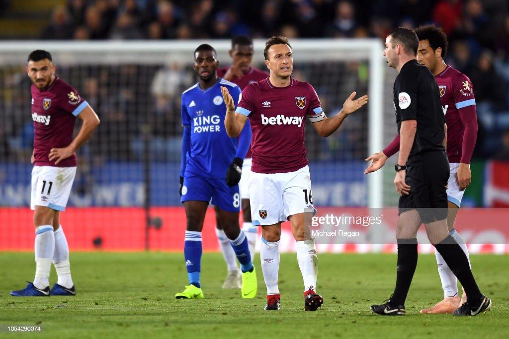Leicester City v West Ham United - Premier League : Nachrichtenfoto