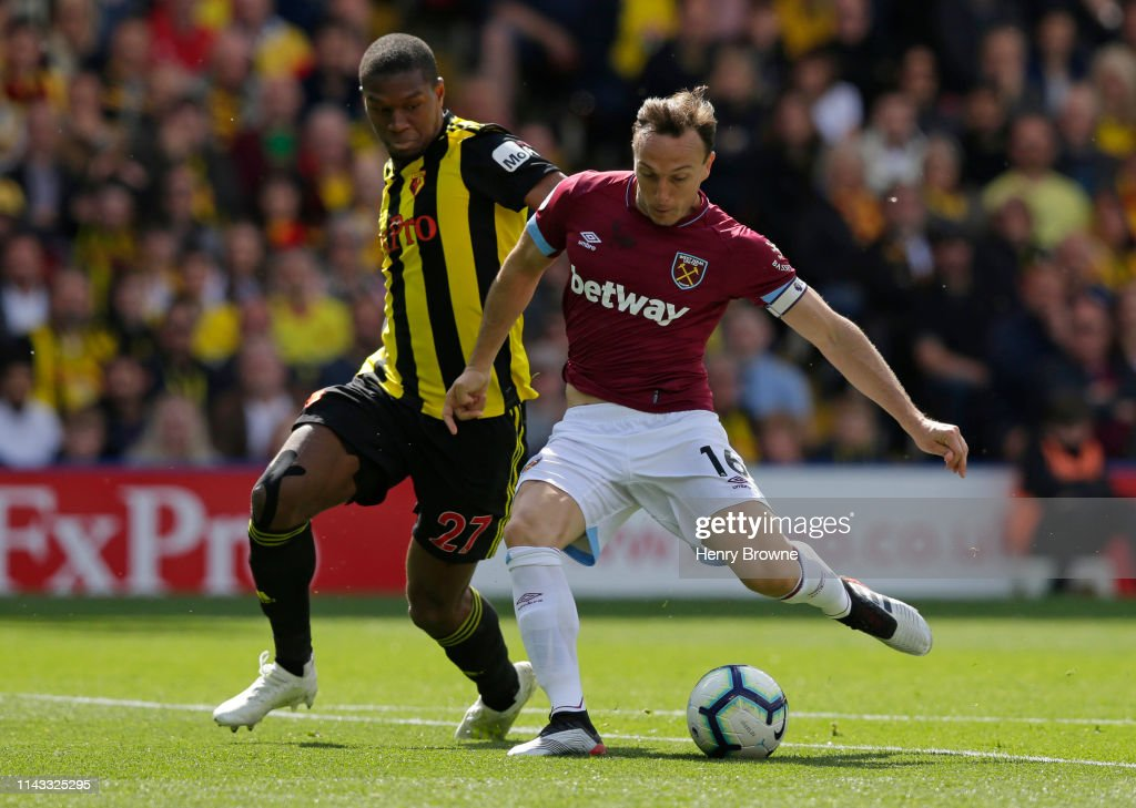 Watford FC v West Ham United - Premier League : News Photo