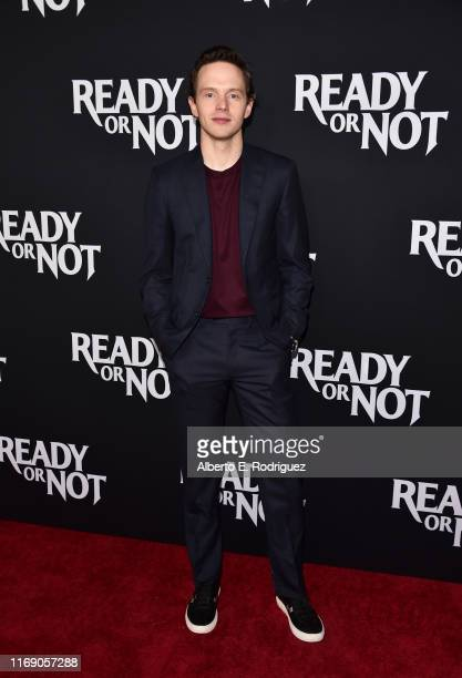 """Mark O'Brien attends the LA Screening Of Fox Searchlight's """"Ready Or Not"""" at ArcLight Culver City on August 19, 2019 in Culver City, California."""