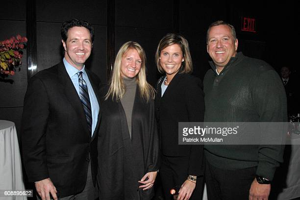 Mark Obrien Heather Blamey Christine Wallace and Michael Zeller attend Stacy Morrison Linda Fears Peggy Northrop Host a party for the Launch of...