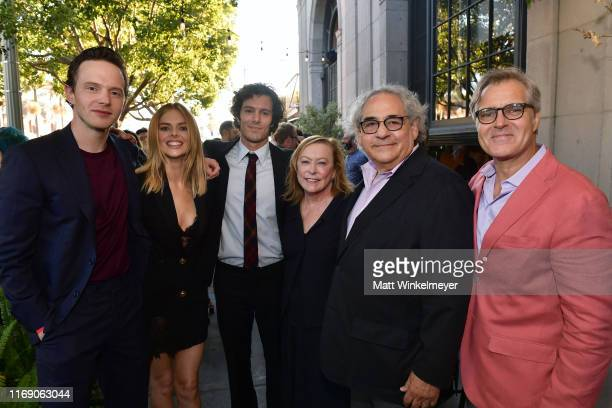 Mark O'Brien Samara Weaving Adam Brody Fox Searchlight Pictures Chairmen Stephen Gilula and Nancy Utley and Henry Czerny attend the LA Screening Of...