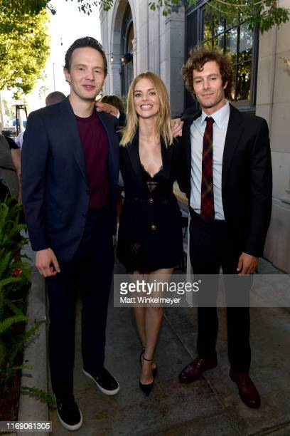Mark O'Brien Samara Weaving and Adam Brody attend the LA Screening Of Fox Searchlight's Ready Or Not at ArcLight Culver City on August 19 2019 in...