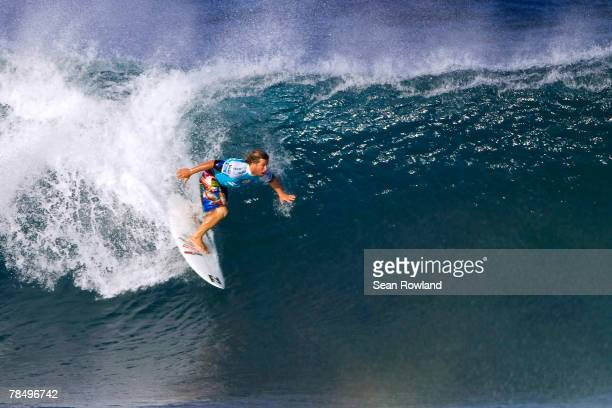 Mark Occhilupo of Australia competes in round three of the Foster's ASP World Tour and Vans Triple Crown of Surfing Billabong Pipeline Masters 2007...