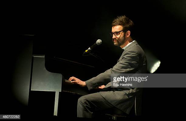 Mark Oliver Everett of Eels performs on stage at New Theatre on June 15 2014 in Oxford United Kingdom