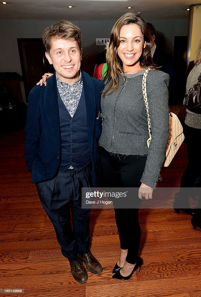 Mark Owen and Kelly Brook attend the 'Welcome To The Punch' UK Premiere at the Vue West End on March 5, 2013 in London, England.