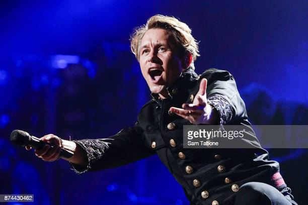Mark Owen from Take That performs at Rod Laver Arena on November 15 2017 in Melbourne Australia