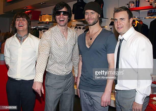 Mark Owen Jason Orange Howard Donald and Gary Barlow of Take That