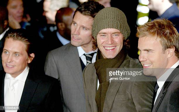 Mark Owen Jason Orange Howard Donald and Gary Barlow