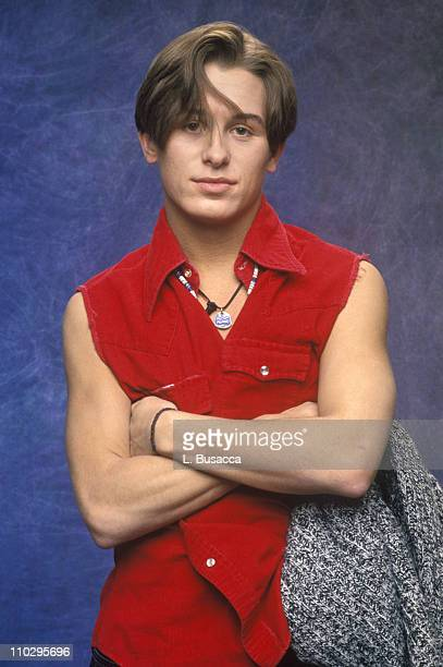 Mark Owen of Take That during Take That Studio Session - March 1, 1993 at Studio Session in New York City, New York, United States.
