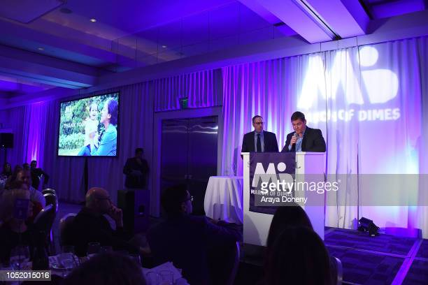 Mark Owens and Todd Christopher attend the March of Dimes Signatures Chefs Auction Los Angeles on October 11 2018 in Beverly Hills California