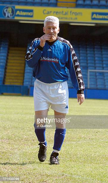 Mark Pailos during The Cystic Fibrosis Trust Challenge Trophy at Stamford Bridge in London Great Britain