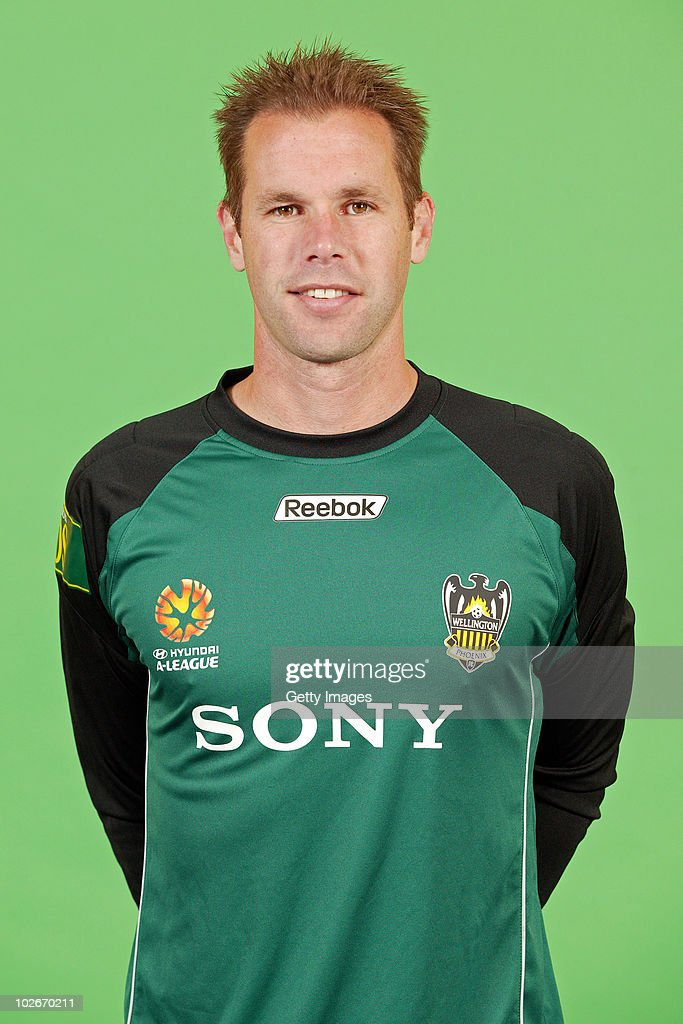 Mark Paston poses during the official Wellington Phoenix 2010/11 Hyundai A-League headshots session at Westpac Stadium on July 5, 2010 in Wellington, New Zealand.