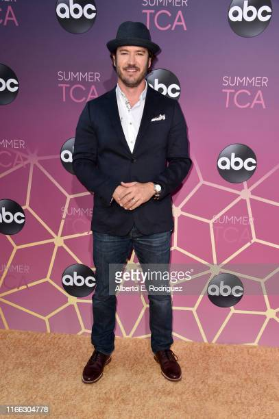 Mark Paul Gosselaar attends ABC's TCA Summer Press Tour Carpet Event on August 05 2019 in West Hollywood California
