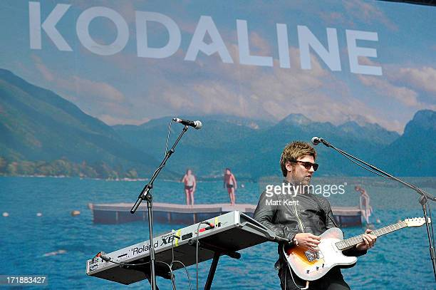 Mark Pendergast of Kodaline performs on the main stage at Hard Rock Calling Day 1, which is the inaugral concert at at the Queen Elizabeth Olympic...