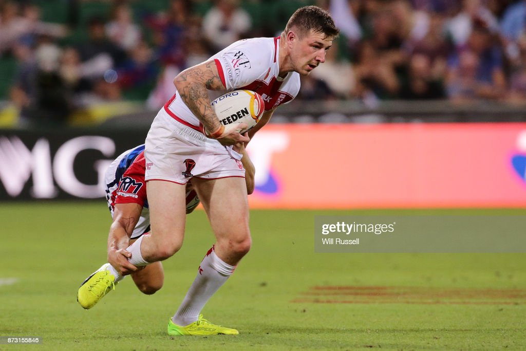England v France - 2017 Rugby League World Cup