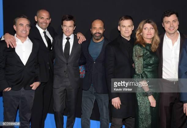 Mark Perez Jason Bateman Jeffrey Wright Michael C Hall Sharon Horgan and John Francis Daley attend the premiere of New Line Cinema and Warner Bros...