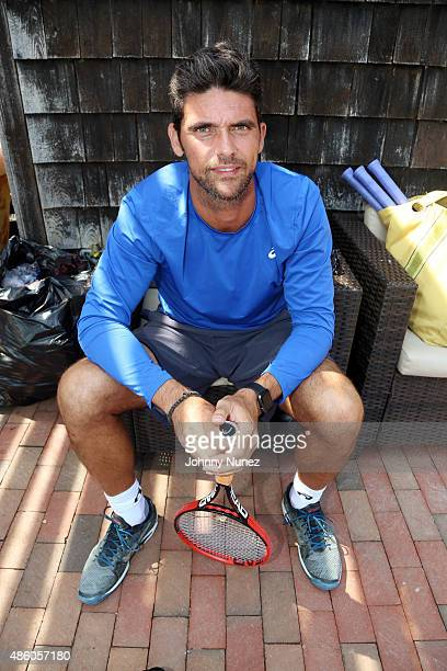 Mark Philippoussis attends the 11th Annual Charles Evans PCF ProAm Tennis Tournament Finals at Shinnecock Tennis Club on August 30 in Southampton New...