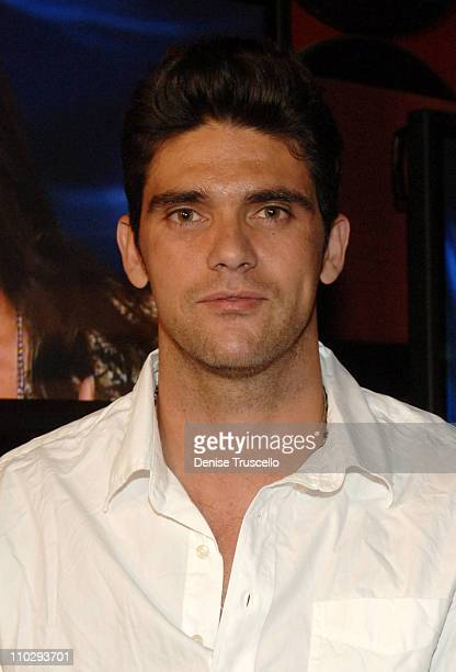Mark Philippoussis during Age of Love Premiere Viewing Party at Planet Hollywood Resort and Casino at Las Vegas in Las Vegas Nevada United States