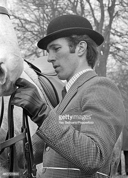 Mark Phillips fiance of Princess Anne at the Rushall Horse Trials in Wiltshire on 31st March 1973