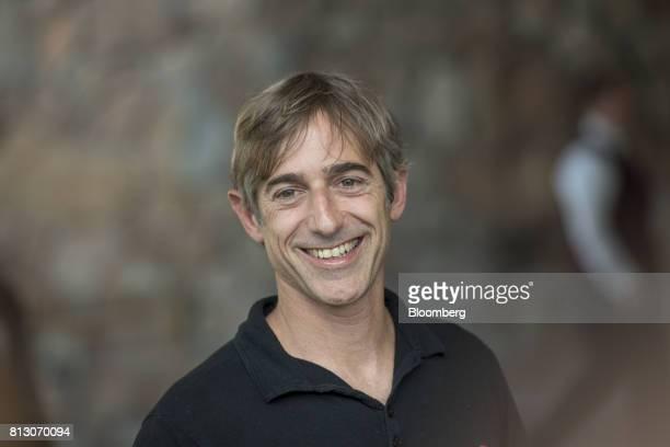 Mark Pincus chief executive officer of Zynga Inc arrives for the Allen Co Media and Technology Conference in Sun Valley Idaho US on Tuesday July 11...