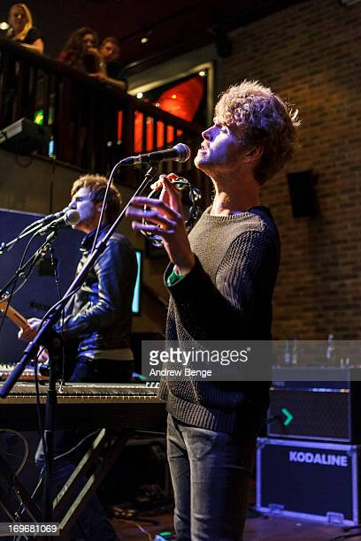 Mark Prendergast and Stephen Garrigan of Kodaline perform at the Hard Rock Cafe in Manchester for the Absolute Radio Presents the road to Hard Rock...