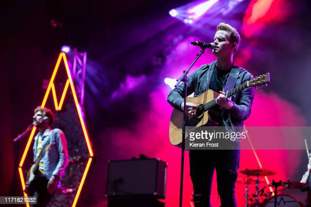 Mark Prendergast and Steve Garrigan of Kodaline perform on stage during Electric Picnic Music Festival 2019 at on September 1, 2019 in Stradbally,...