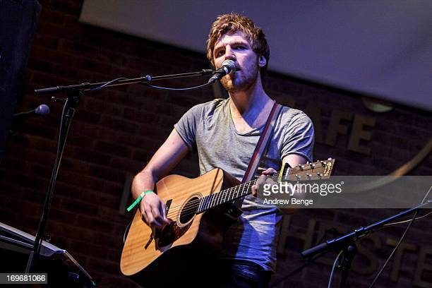 Mark Prendergast of Kodaline perform at the Hard Rock Cafe in Manchester during sound check for the Absolute Radio Presents the road to Hard Rock...