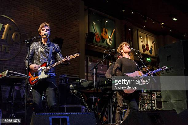 Mark Prendergast, Stephen Garrigan, Jason Boland and Vinny May of Kodaline perform for the Absolute Radio Presents the road to Hard Rock Calling...
