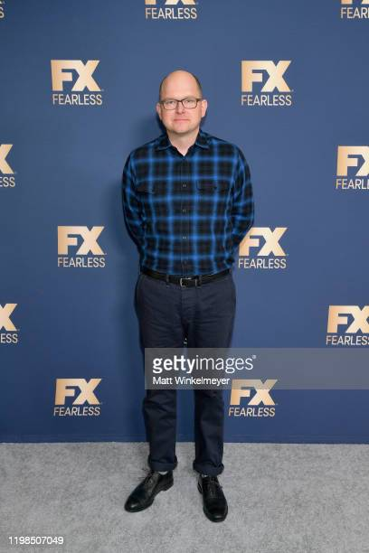 Mark Proksch of 'What We Do in the Shadows' attends the FX Networks' Star Walk Winter Press Tour 2020 at The Langham Huntington Pasadena on January...