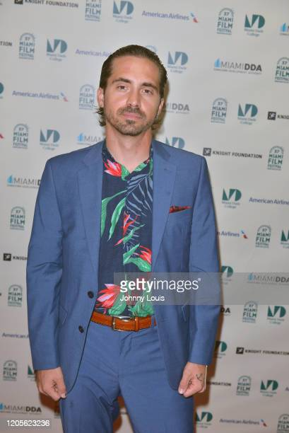 Mark Pulaski from feature film 'Reefa' is seen during 37th Annual Miami Film Festival presented by Miami Dade College opening night at Olympia...