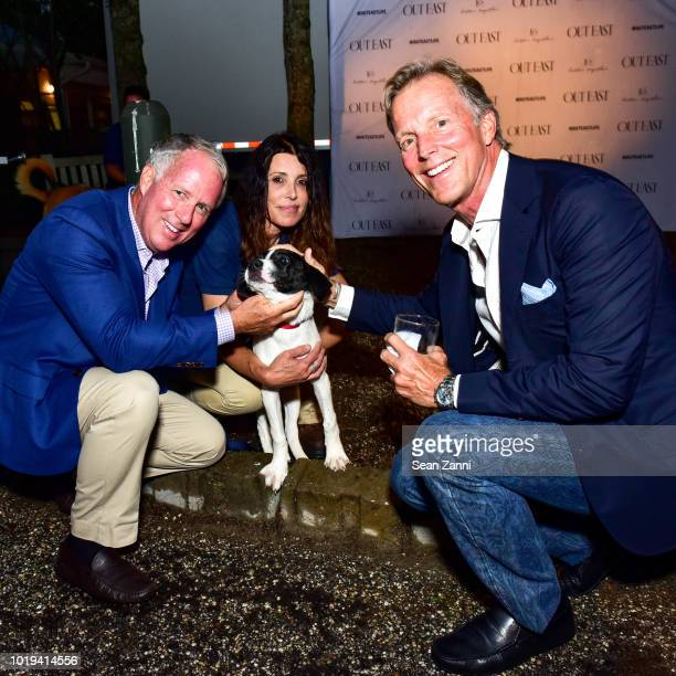 Mark Rabbett Cindy LeRoy Paola and Martin Rabbett attend the Animal Rescue Fund Of The Hamptons Bow Wow Meow Ball at ARF Adoption Center on August 18...