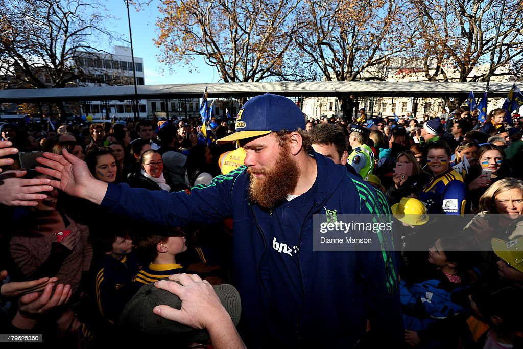 Highlanders Super Rugby Victory Parade : News Photo
