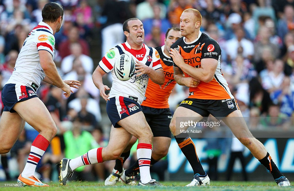 NRL Rd 4 - Roosters v Wests Tigers