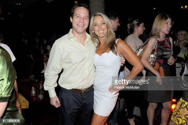 Mark Roberts and Denise Austin attend EVERYDAY HEALTH Anniversary Party at Gansevoort Park Avenue South on September 23 2010 in New York City