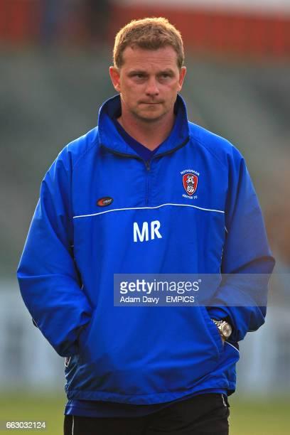 Mark Robins, Rotherham United manager