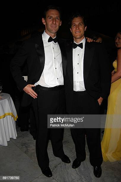 Mark Rockefeller and Eric Zinterhofer attend The MUSEUM OF MODERN ART hosts their 37th Annual Party in the Garden to Celebrate DAVID ROCKEFELLER's...