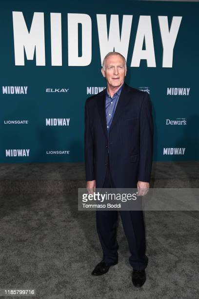 Mark Rolston attends the Premiere Of Lionsgate's Midway at Regency Village Theatre on November 05 2019 in Westwood California