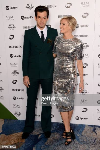 Mark Ronson and Jo Whiley attend the 26th annual Music Industry Trust Awards held at The Grosvenor House Hotel on November 6 2017 in London England