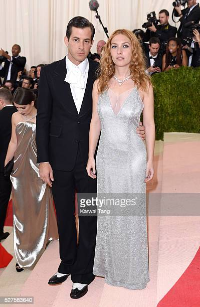 Mark Ronson and Josephine de La Baume arrive for the 'Manus x Machina Fashion In An Age Of Technology' Costume Institute Gala at Metropolitan Museum...