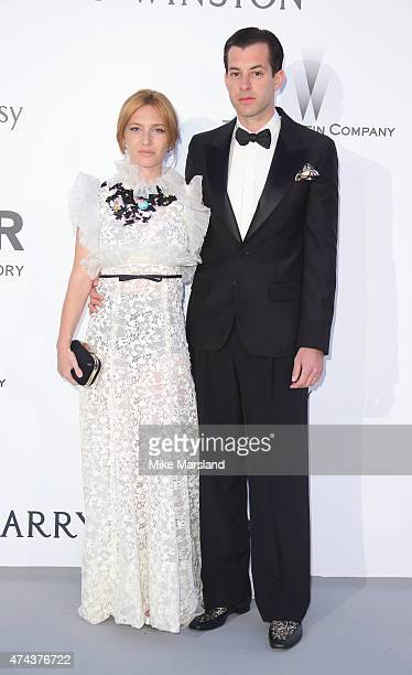 Mark Ronson and Josephine de La Baume attend amfAR's 22nd Cinema Against AIDS Gala Presented By Bold Films And Harry Winston at Hotel du CapEdenRoc...