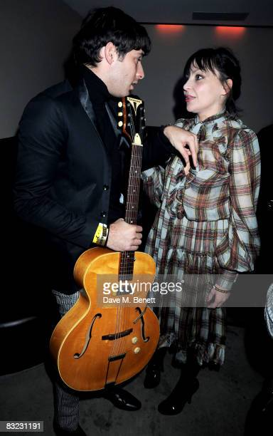 Mark Ronson and Pearl Lowe attend The Diesel xXx Creative Experiment Party as Diesel celebrates its 30th Birthday at Matter in the O2 Arena on...