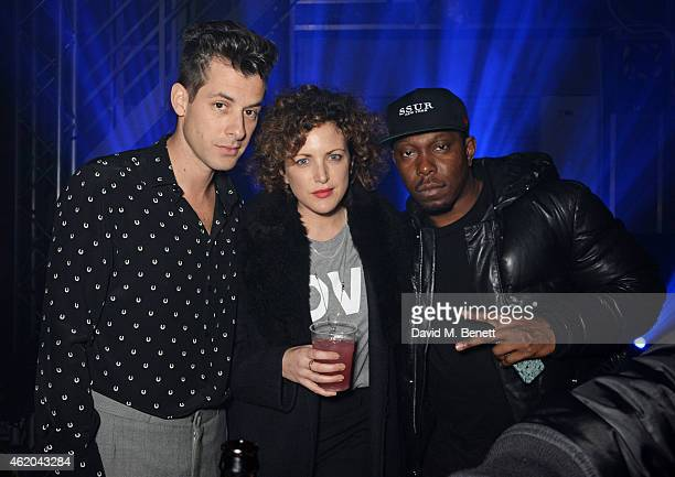 Mark Ronson Annie Mac and Dizzee Rascal attend as Mark Ronson hosts a party to celebrate the launch of his new album Uptown Special at Television...