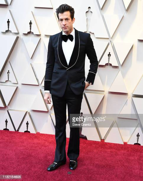 Mark Ronson arrives at the 91st Annual Academy Awards at Hollywood and Highland on February 24 2019 in Hollywood California