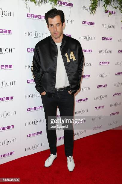 Mark Ronson arrives at the Grand Opening of The Highlight Room at DREAM Hollywood on July 11 2017 in Hollywood California
