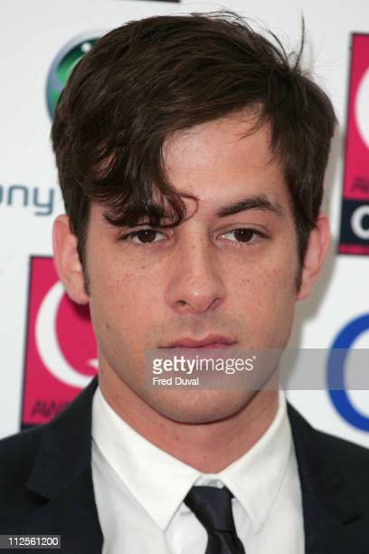 Mark Ronson arriving at the Q Awards held at Grosvenor House Hotel on October 8 2007 in London England
